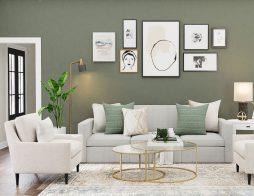 Sơn phòng khách màu gì đẹp?